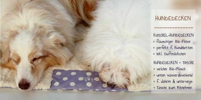 Bio Hundedecken