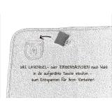 Bio Kuschel-Hundedecke kupferbraun