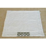 Organic Dog Blanket grey