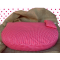 Organic Dog Bed pink water-repellent