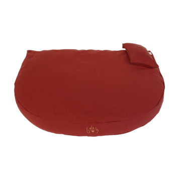 Organic Dog Bed bordeaux