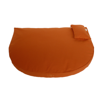 Bio Hundebett orange