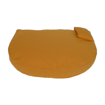 Organic Dog Bed ochre