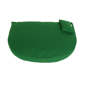 Organic Dog Bed fir green