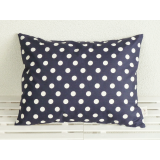 Organic Decorative Pillow night blue