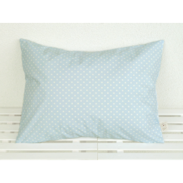 Organic Decorative Pillow light blue