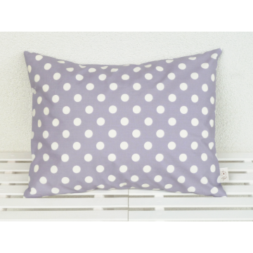 Organic Decorative Pillow lavender