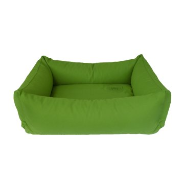 Organic Dog Bed Box grass green