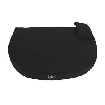Organic Dog Bed black