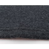 Organic Cuddly Blanket black marl