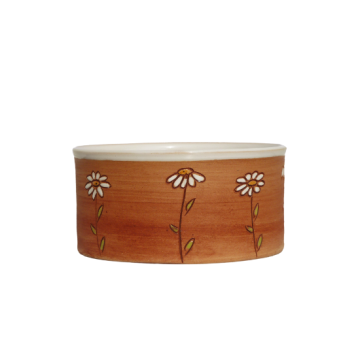 Dog Bowl small Flower meadow