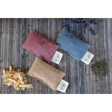 Duftsäckchen mit Bio Lavendel oder Zirbe