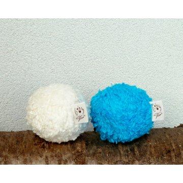 Bio Hundespielzeug Ball kuschelig