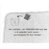 Bio Kuschel-Hundedecke graugrün meliert