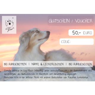 Voucher 50 Euro